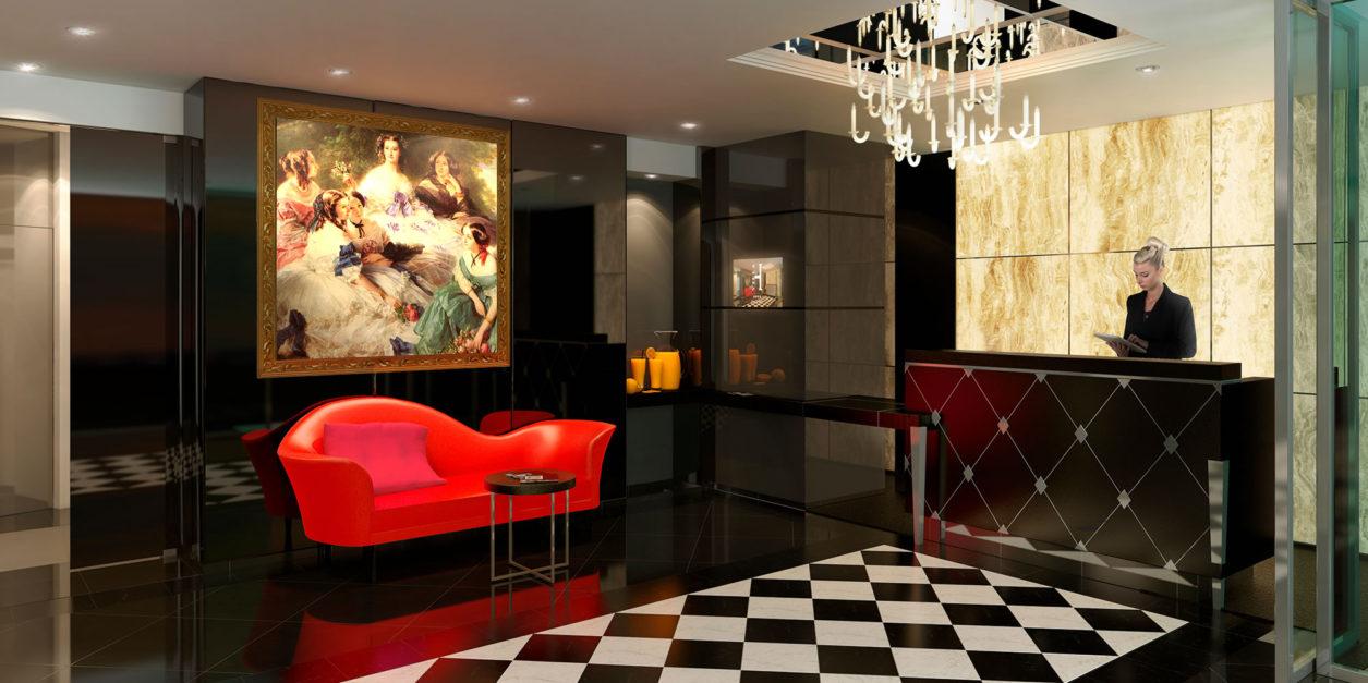 la villa haussmann chapitre 2 ambiance design par m. Black Bedroom Furniture Sets. Home Design Ideas